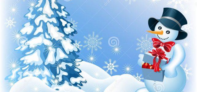 Зимняя сказка школьного двора